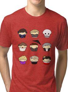 Cupcake!Lock Tri-blend T-Shirt