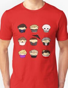 Cupcake!Lock Unisex T-Shirt