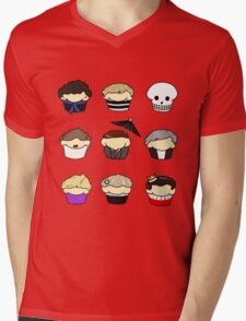 Cupcake!Lock Mens V-Neck T-Shirt