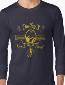 Dudley's Gentlemen's Boxing Club Long Sleeve T-Shirt