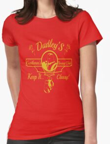 Dudley's Gentlemen's Boxing Club Womens Fitted T-Shirt