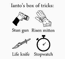 Ianto's box of tricks Unisex T-Shirt