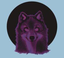 Pink wolf One Piece - Short Sleeve
