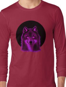 Pink wolf Long Sleeve T-Shirt
