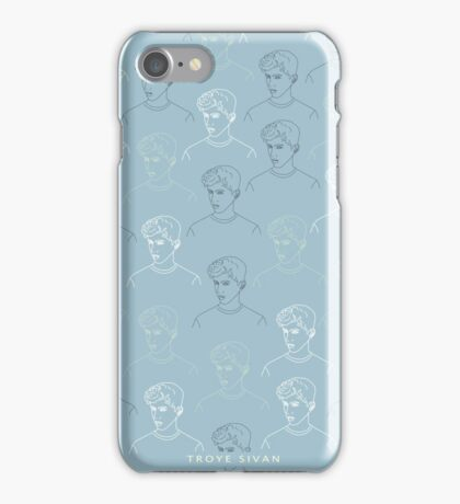 TROYE SIVAN MOSAIC - BLUE iPhone Case/Skin