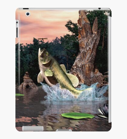 LargeMouth Bass iPad Case/Skin