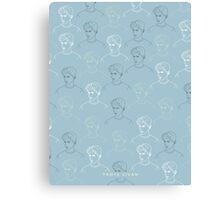 TROYE SIVAN MOSAIC - BLUE Canvas Print