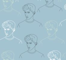 TROYE SIVAN MOSAIC - BLUE Sticker
