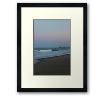 As the day closes Framed Print