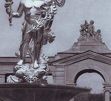 """Achievement"" (Fountain at Nemours mansion) by Rik Kent"