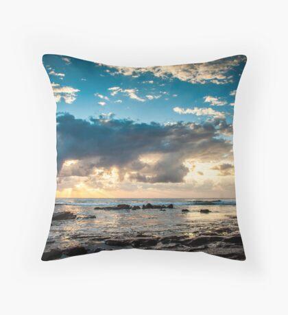 Shelley Beach Throw Pillow