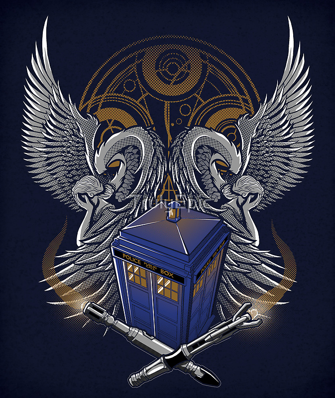 Timelord and Proud - Print by TrulyEpic