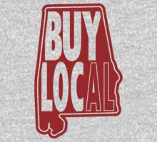 Buy Local Alabama Red Kids Clothes