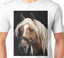 The Palomino - Horse Portrait Painting Unisex T-Shirt