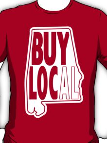 buy local white T-Shirt
