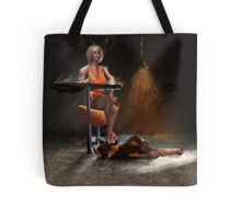 Trophy wife on the Shelf Tote Bag