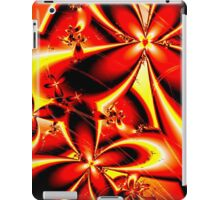Flaming Red Flowers iPad Case/Skin