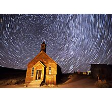 Star Trails at Bodie Photographic Print
