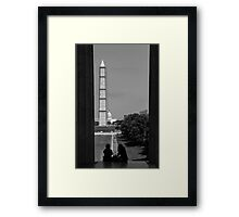 Washington DC Framed Print
