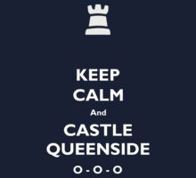 Keep Calm and Castle Queenside One Piece - Long Sleeve