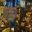 Fira Wine Shop by Barbara  Brown
