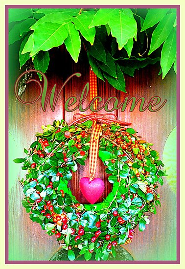 Welcome HOME by ©The Creative  Minds