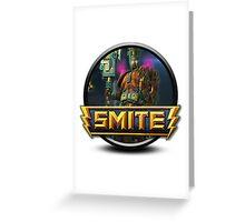 Smite Chaac Logo Greeting Card