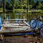 Mountain Biking can take you anywhere! by Joe Blount