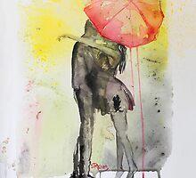 Pink Rain by Sara Riches