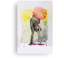 Pink Rain Canvas Print