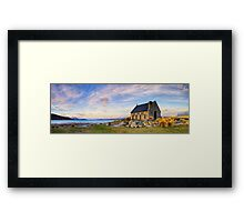 Lake Tekapo - The Good Shepherd Framed Print