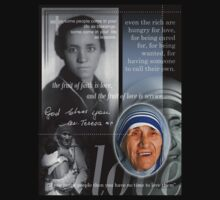 mother teresa  by redboy