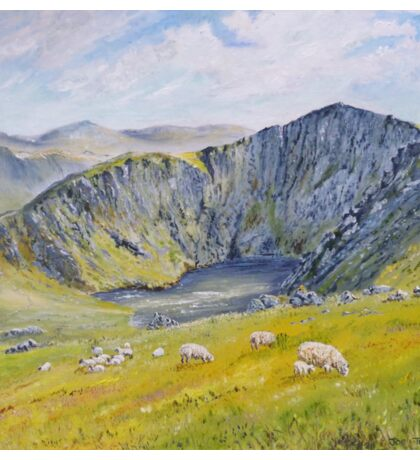 Springtime on Cader Idris. Sticker
