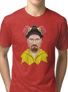 Walter White in Lab Gear Tri-blend T-Shirt