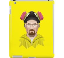 Walter White in Lab Gear iPad Case/Skin