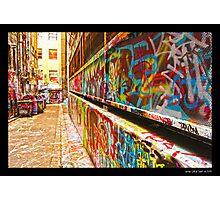 Hosier Lane, Melbourne City Photographic Print
