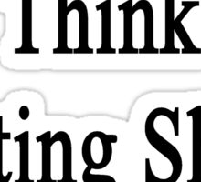 Only Jerks Think Hurting Sheep Is Funny  Sticker