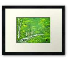 Green Meadows  Framed Print