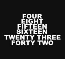 Lost Numbers by TheShikari