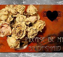 Please be my Bridesmaid by CardZone By Ian Jeffrey