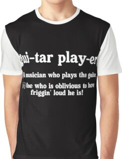 guitar player dictionary Graphic T-Shirt