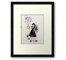 Audrey Hepburn Funny Face Framed Print