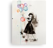 Audrey Hepburn Funny Face Canvas Print
