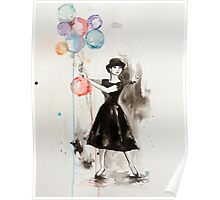 Audrey Hepburn Funny Face Poster