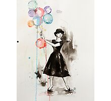 Audrey Hepburn Funny Face Photographic Print