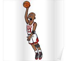 Michael Jordan style Poster