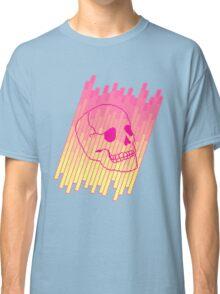 Skull Fade (Pink) Classic T-Shirt