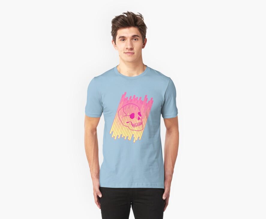 Skull Fade (Pink) by vgjunk
