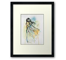 And the Wind Blew Framed Print