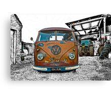 VW Split Screen Canvas Print